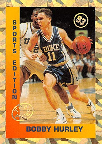 - Bobby Hurley basketball card (Duke Blue Devils) 1993 Sports Edition Gold Foil Top Picks Refractor Rookie