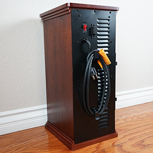 Electric Tower Fan : Della portable watt electric infrared quartz tower