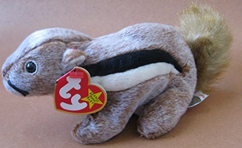 TY Beanie Babies Chipper the Chipmunk Plush Toy Stuffed Animal by Unknown from Unknown