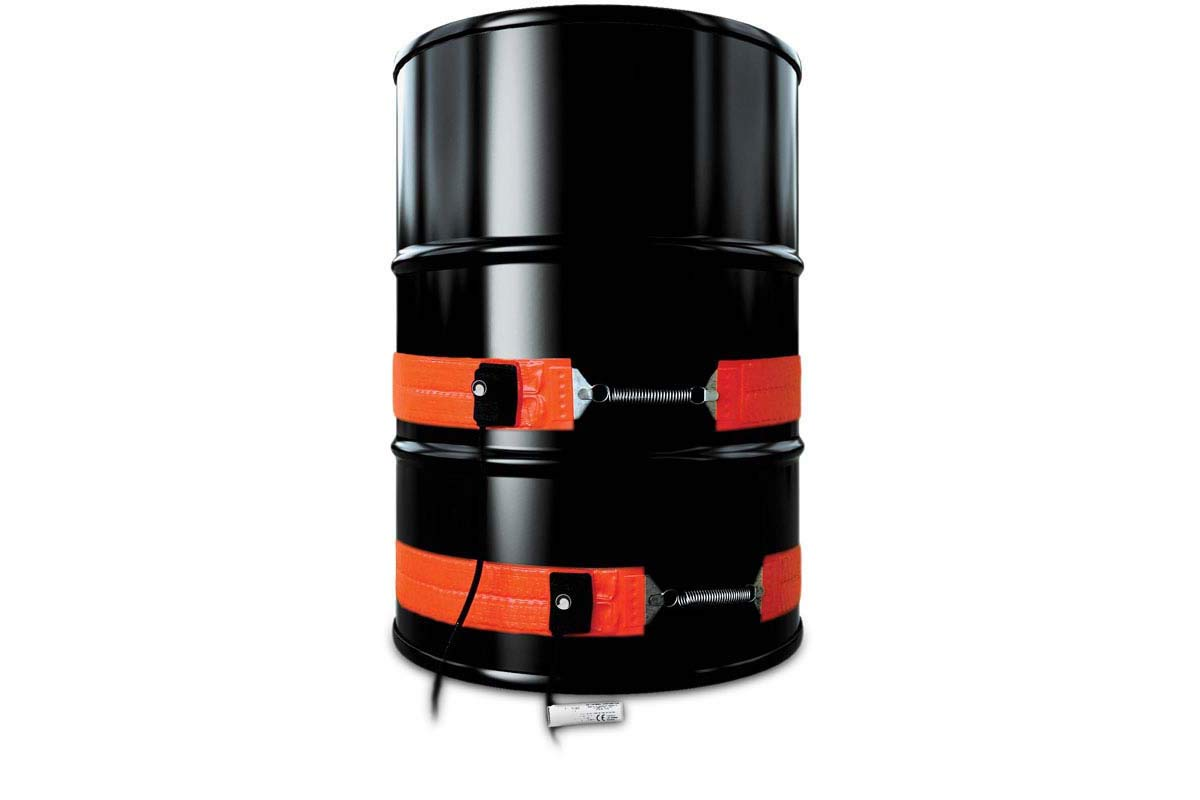 B0095ZDJZO BriskHeat DHCS10 DHCS Standard Heavy Duty Metal Pail Heater, Fits 5-Gallon Pails, 2-Layer Reinforced Silicone Rubber, W x L: 4 x 35-Inch, Diameter: 11.1-Inch, 120VAC 513QrRutgSL
