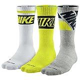 NIKE Men's Dri-Fit Cushioned Crew Socks