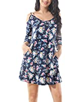 CINDYLOVER Beach Dresses for Women Floral Print...