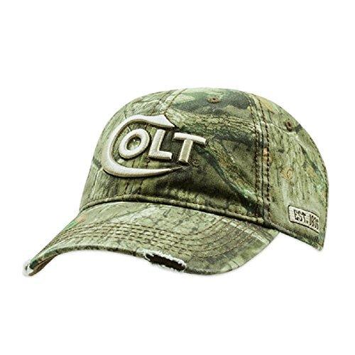 Colt Firearms Baseball Cap Mossy Oak Camo Embroidered Logo ()