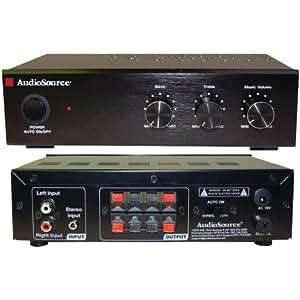 audiosource amp50 stereo power amplifier amazonca