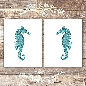 513QsVIPm-L._SS300_ Seahorse Wall Art & Seahorse Wall Decor