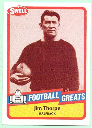 Jim Thorpe 1989 Swell Football Greats #17 - Canton Bulldogs