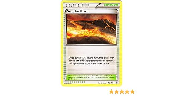 Primal Clash  Uncommon  NM//Mint  Pokemon Scorched Earth  138//160  X/&Y