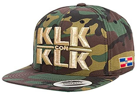 b7afe4fbd13a5 KloK con K lo K Hat Dominican Team WBC klk (Camo Gold) at Amazon ...