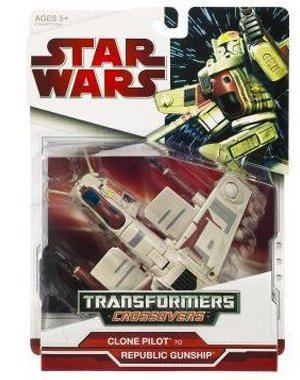 - Star Wars Transformers Crossovers - REPUBLIC GUNSHIP
