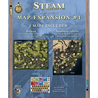 "Mayfair Games MFG45614 Steam Expansion #4"" Game"