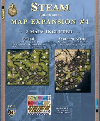 "Mayfair Games MFG45614 Steam Expansion #4"" Game"