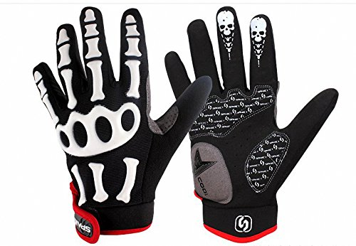 C-circle@Off Road Racing Motorcycle Motorbike Gloves Motocross Full Finger Gloves BMX ATV Accessories bicycle Protective Gears bike parts (Medium)