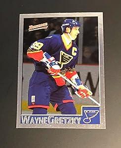 Wayne Gretzky Blues 1996-97 Bowman Foil #1
