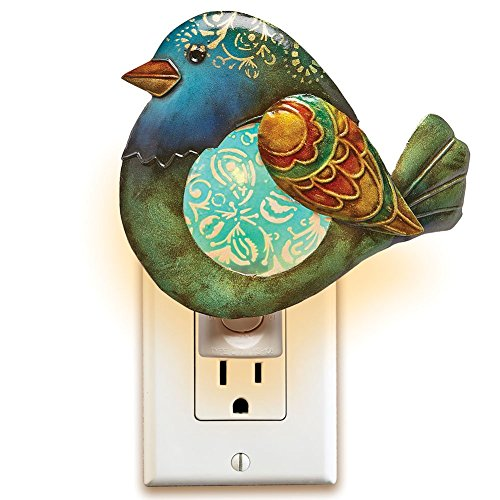 Capiz Shell Electric Nightlight - Jaybird