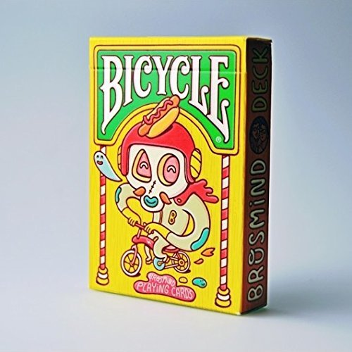 Bicycle Brosmind Playing Cards Inspired by Street Art Magic Poker Deck by USPCC