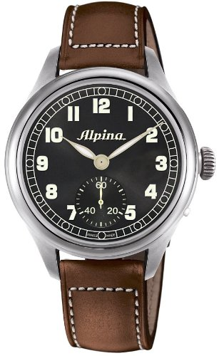 Alpina Aviation Startimer Pilot Heritage Men's Hand Wound Mechanical Limited Edition Watch AL-435B4SH6