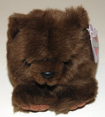 Puffkins Grizwald the Brown Bear Bean Bag
