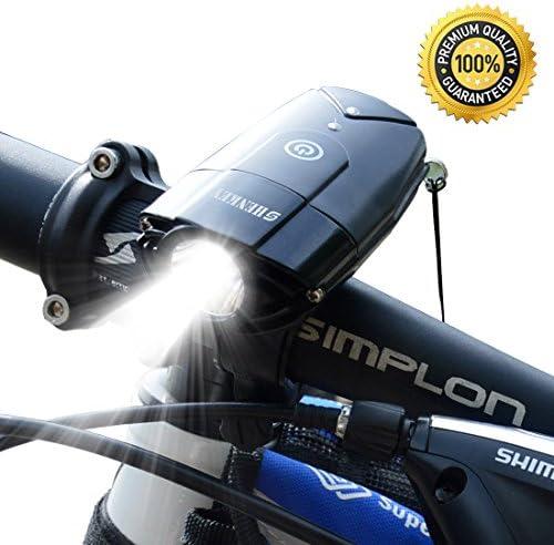 Añadiendo al carrito...Añadido a la cestaNo añadidoNo añadidoshenkey Luces Delanteras de la Bici Linterna Recargable del Ciclo del USB IP65 Linterna estupenda Impermeable de la Bicicleta 10W Led Luces de la Bicicleta para completar un Ciclo