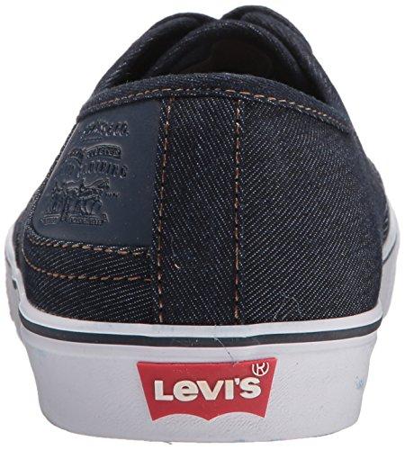 Levis Menns Monterey Denim Sneaker Navy Levis Menns Monterey Denim Sneaker  Navy ...