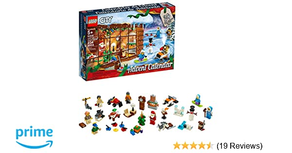 Amazon com: LEGO City Advent Calendar 60235 Building Kit