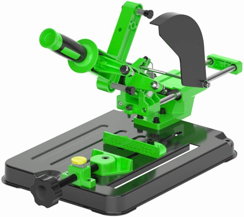 KKmoon Winkelschleifer Halterung,Poliermaschine Umr/üstschneidemaschine Tischkreiss/äge Multifunktionale Desktop-Zugstange Winkelschleifmaschine St/änder f/ür 100 und 125 Winkelschleifer