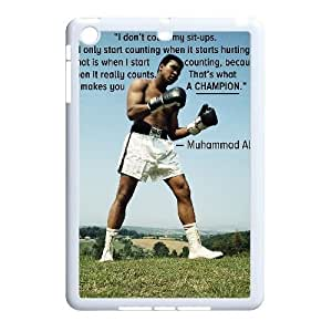 DIY Muhammad Ali Phone Case for iPad mini, Muhammad Ali Ipad Mini Cell Phone Case, Customized Muhammad Ali iPad Case