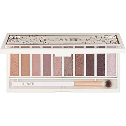 Flower Shimmer Shade Eyeshadow Palette ES1 WARM NATURAL