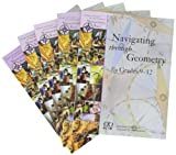 ETA hand2mind Navigating Through Math Series: Grades 9-12, Set of 7 Books