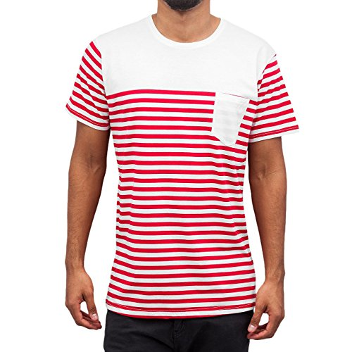 Cazzy Clang Herren Oberteile / T-Shirt Strong rot XL