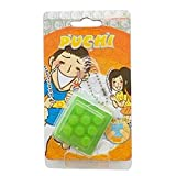 Lanlan Electronic Bubble Squeeze Wrap Keychain Novelty Toy Stress Relief Pop Toy Green
