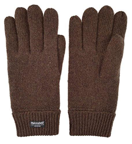 Buy brown gloves men