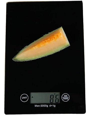 Básculas de cocina multifunción digitales y básculas para alimentos básculas de cocina digitales ultrafinas pantalla grande