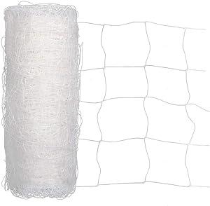 Heavy Duty Trellis Netting Roll - 79''x328' Plastic Plant Trellis Net for Climbing Plants