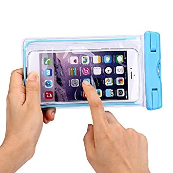 7Leon Waterproof Underwater Case Cover Bag Dry Pouch For All iPhone Samsung Any Cell Phone Size