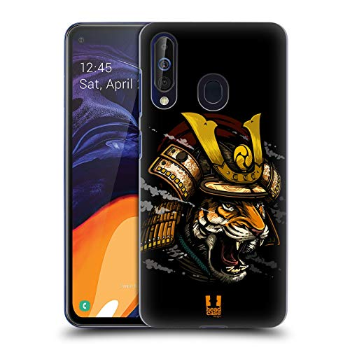 Head Case Designs Shogun Warriors from The Wild Hard Back Case Compatible for Samsung Galaxy A60 (2019)