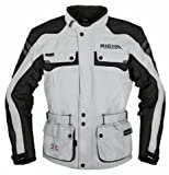 Richa Spirit C-Change Nanosphere Motorcycle Jacket, Gray/Black, 2XL/XXL/Chest-46