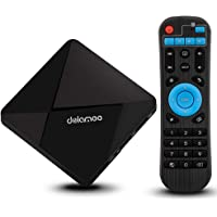 Android 7.1 TV Box, DOLAMEE D5 Smart Set Top Box Supports WIFI True 4K UHD Media Player For Home Entertainment