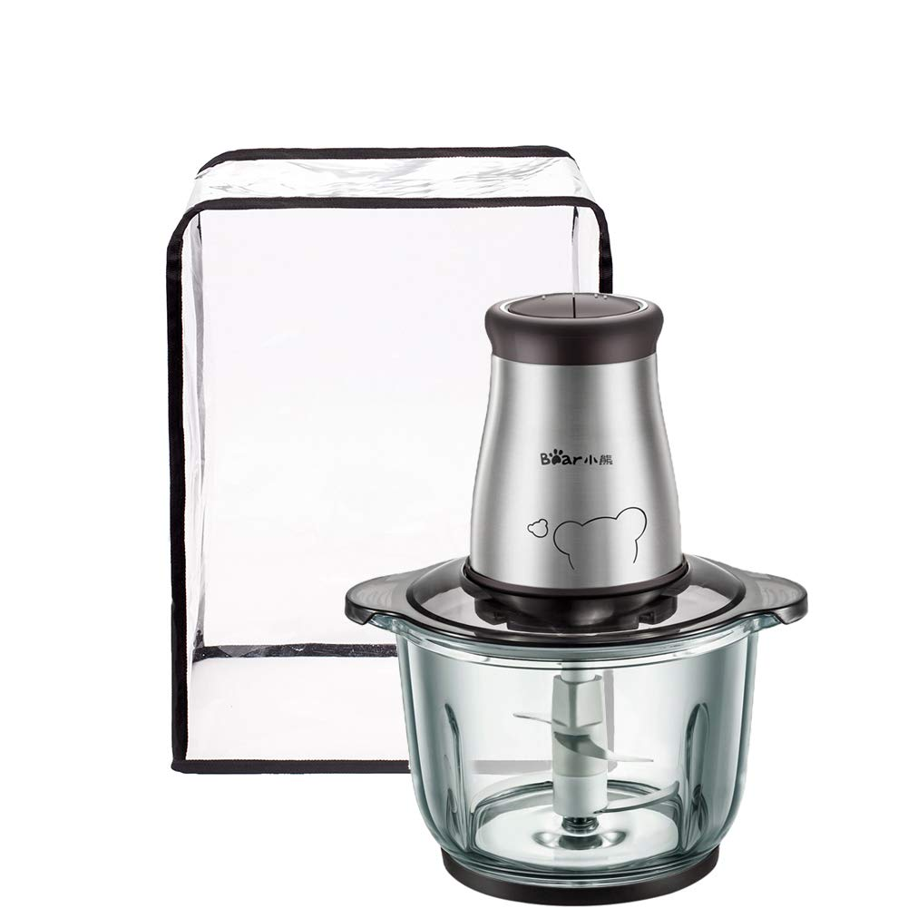 Food Processor Appliance Cover, Transparent Electric Meat Grinder Sausage Maker Meat Machine Dustproof And Waterproof Protectors, Kitchen Aid Mixer Accessories, Kitchen Small Appliance Shield Organizer Bag