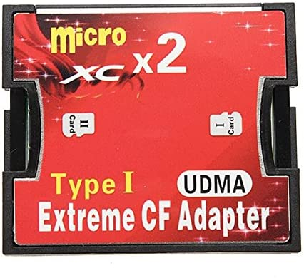 Adaptador de Tarjeta de Memoria SD convertir Micro HC/TF a Tipo CF ...
