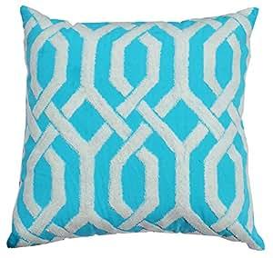 Amazon Com Cloud9 Clp1086a Tq Decorative Pillow 20 Inch
