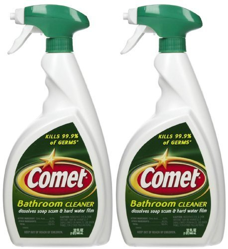 Comet Bathroom Cleaner Spray - 32 oz - 2 pk by Comet by Comet (Image #1)