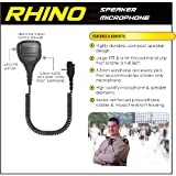 Earphone Connection RHINO Shoulder Mic for Vertex VX Series Radios (See List)