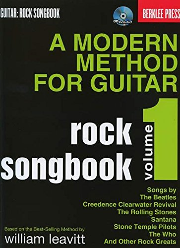 Modern Method For Guitar Rock Songbook: (Book/CD)