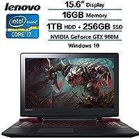 Lenovo Flagship 2018 Newest Y700 15.6 15.6 4K/UHD IPS , Intel Core i7-6700HQ 2.6GHz, 1TB HDD+256GB SSD, 16GB DDR4 SDRAM, NVIDIA GeForce GTX 960M, Windows 10