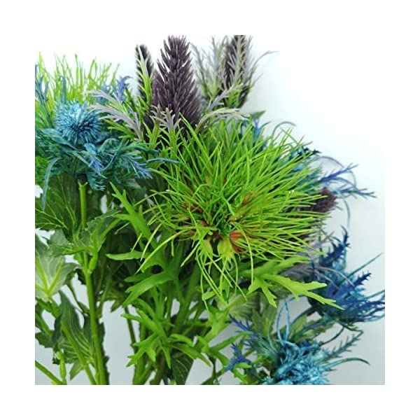 Lily-Garden-6-Long-Stems-Artificial-Eryngo-Thistles-Bunch-of-Flowers-Plants-for-Home-Decor-Centerpieces