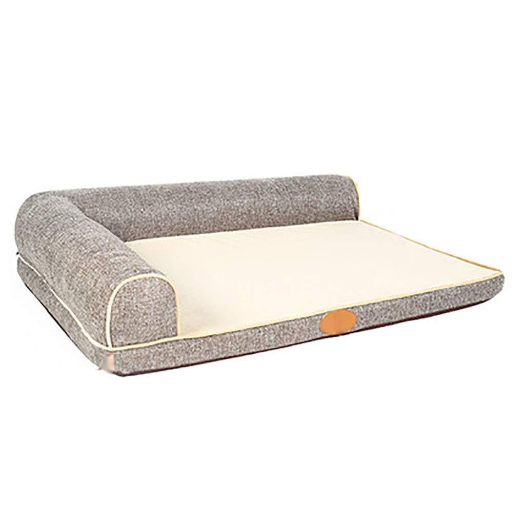 A 7050Pet house Cat nest kennel Medium dog Large dog Pet mat pet nest Pet bed Warm cosy Four seasons available (color   A, Size   70  50)