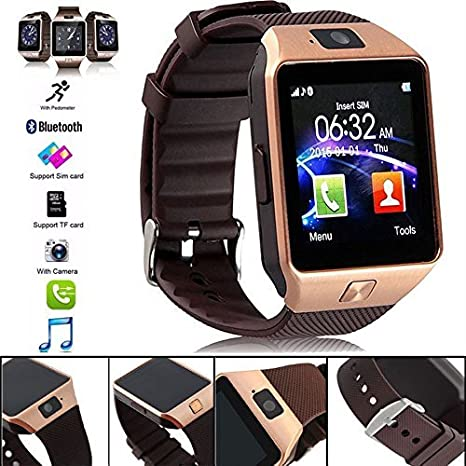 MENTAL MIND® DZ09 Wearable Touch Screen Bluetooth: Amazon in