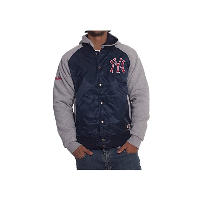 Cazadora MLB Majestic: New York Yankees NV L: Amazon.es ...