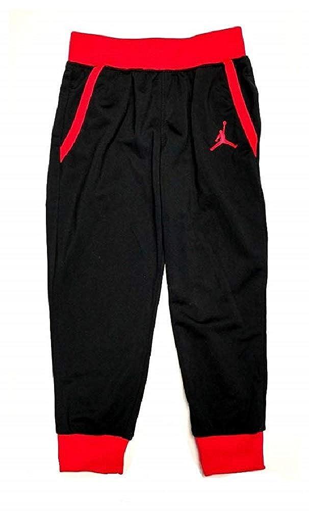 Black//Infared Air Jordan Toddler Boys Tricot Jogger Pants