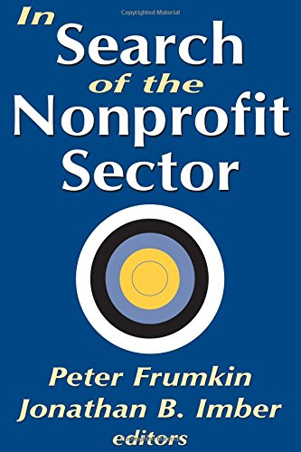 Read Online In Search of the Nonprofit Sector pdf